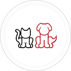 A pet graphic for Spinning Pet Yarn